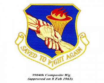 Coat of arms (crest) of the 3904th Composite Wing, US Air Force