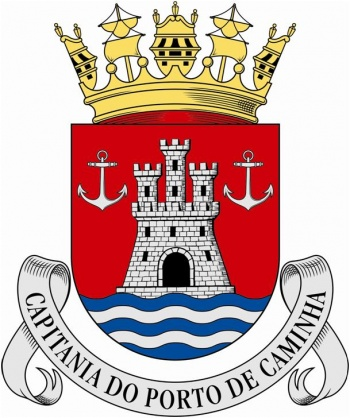 Coat of arms (crest) of the Harbour Captain of Caminha, Portuguese Navy
