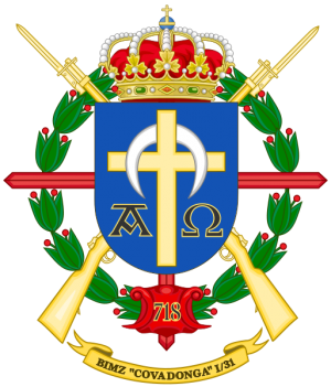 Mechanized Infantry Battalion Covadonga I-31, Spanish Army.png