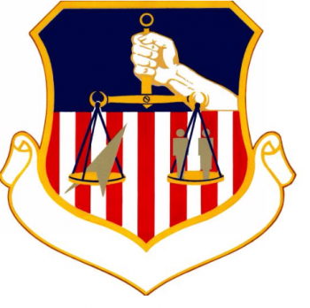 Coat of arms (crest) of the 834th Combat Support Group, US Air Force