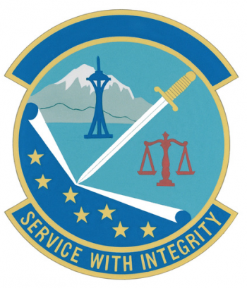 Coat of arms (crest) of the Air Force Office of Special Investigations District 20, US Air Force