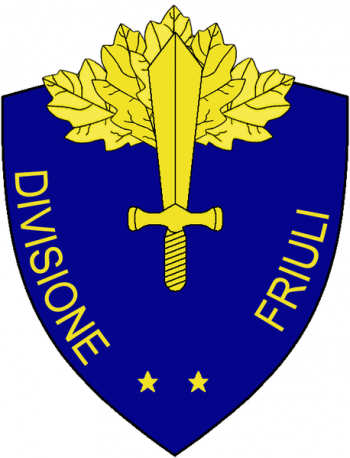 Coat of arms (crest) of the Division Friuli, Italian Army