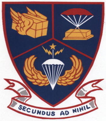 Coat of arms (crest) of the 2nd Aerial Port Squadron, US Air Force
