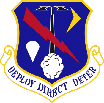Coat of arms (crest) of the 368th Expeditionary Air Support Operations Group, US Air Force