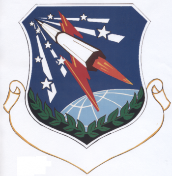 Coat of arms (crest) of the 451st Strategic Missile Wing, US Air Force