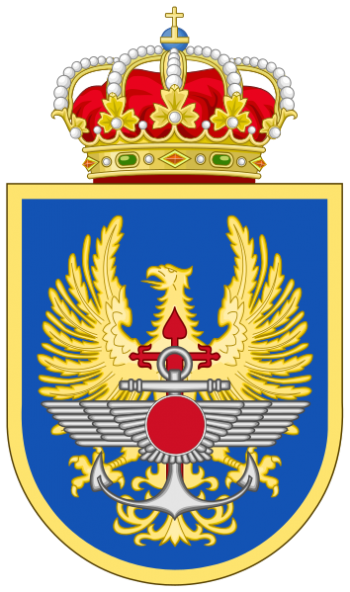 Coat of arms (crest) of the Defence General Staff, Spain