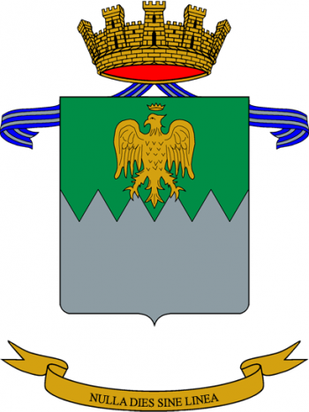 Coat of arms (crest) of the Julia Logistics Battalion, Italian Army