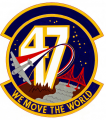 47th Aerial Port Squadron, US Air Force.png