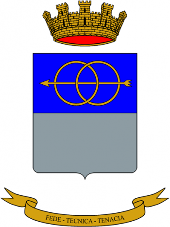 Coat of arms (crest) of the Motor Technicians School, Italian Army