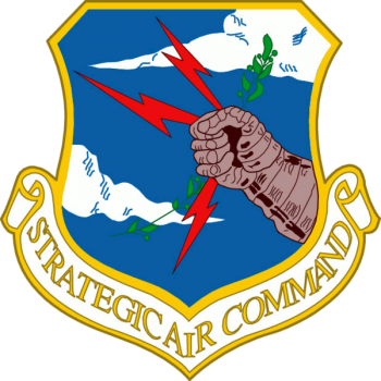 Coat of arms (crest) of the Strategic Air Command, US Air Force