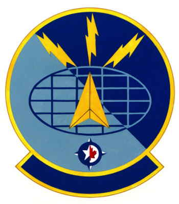 Coat of arms (crest) of the 1022nd Forces Support Squadron, US Air Force