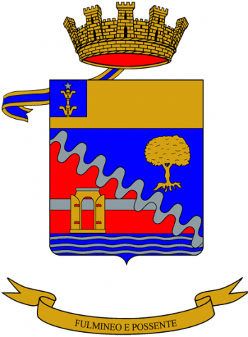 Coat of arms (crest) of the 132nd Artillery Regiment, Italian Army
