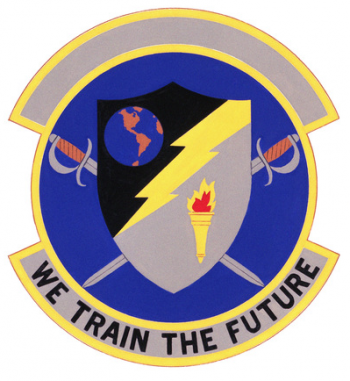 Coat of arms (crest) of the 3484h Student Squadron, US Air Force