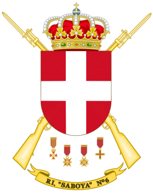 Infantry Regiment Saboya No 6, Spanish Army.png