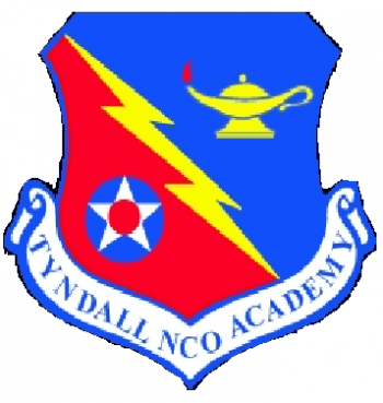 Coat of arms (crest) of the Tyndall Noncommissioned Officer Academy, US Air Force