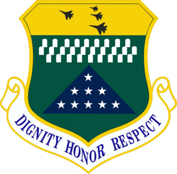 Coat of arms (crest) of the Air Force Mortuary Affairs Operations, US Air Force