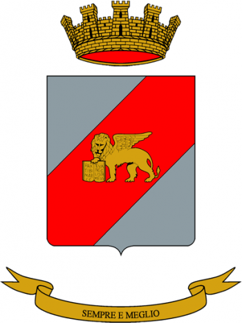 Coat of arms (crest) of the Ariete Logistics Battalion, Italian Army