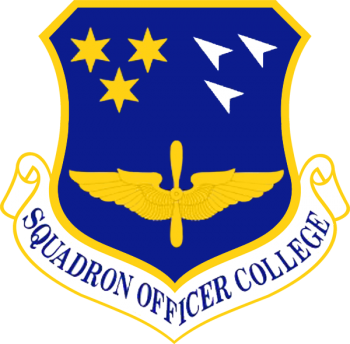 Coat of arms (crest) of the Squadron Officer College, US Air Force