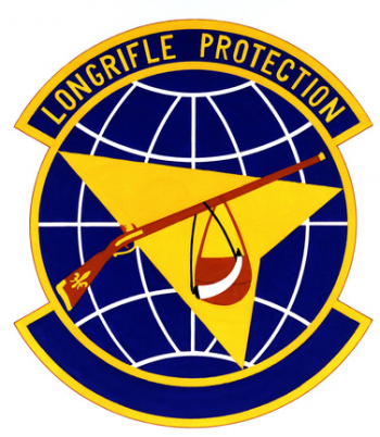 Coat of arms (crest) of the 123rd Weapons System Security Flight, US Air Force