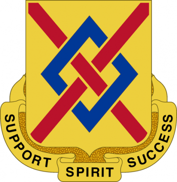 Arms of 39th Support Battalion, Arkansas Army National Guard