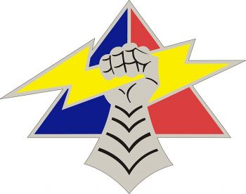 Arms of 4th Armored Division, US Army