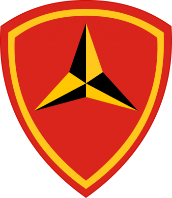 Coat of arms (crest) of the 3rd Marine Division, USMC