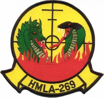 Coat of arms (crest) of the HMLA-269 The Gunrunners, USMC