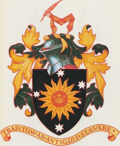 Arms of Heraldry Society of Australia