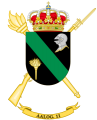 Logistics Support Group 11, Spanish Army.png