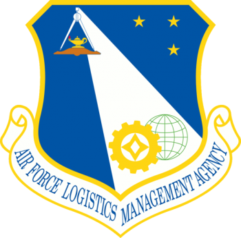 Coat of arms (crest) of the Air Force Logistics Management Agency, US Air Force