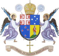 Arms of Metropolitanate of Australia and New Zealand, Serbian Orthodox Church