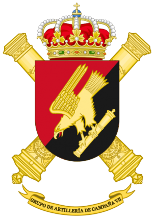 Field Artillery Group VII, Spanish Army.png