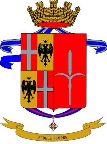 Coat of arms (crest) of the 1st Infantry Regiment San Giusto, Italian Army