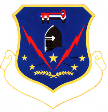 Coat of arms (crest) of the 341st Security Police Group, US Air Force
