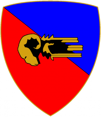 Coat of arms (crest) of the Armoured Brigade Ariete, Italian Army
