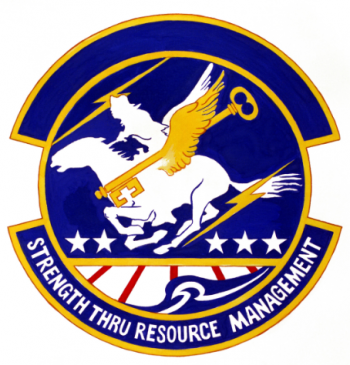Coat of arms (crest) of the 139th Resource Management Squadron, Missouri Air National Guard