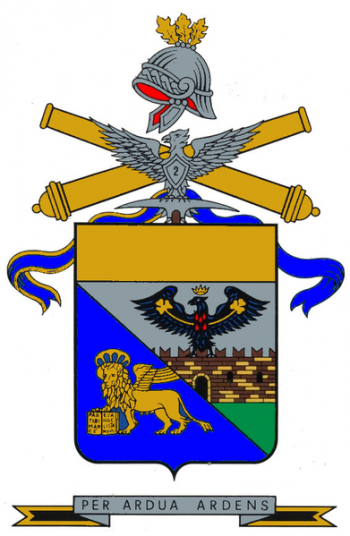 Arms of 2nd Mountain Artillery Regiment, Italian Army