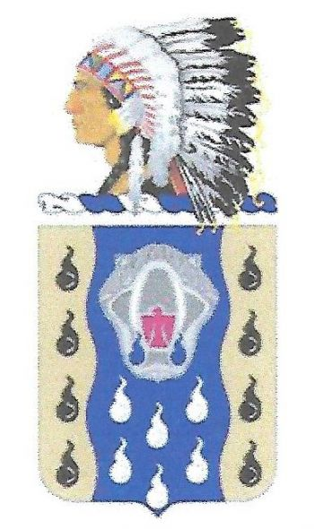 Arms of 345th Quartermaster Battalion, Oklahoma Army National Guard