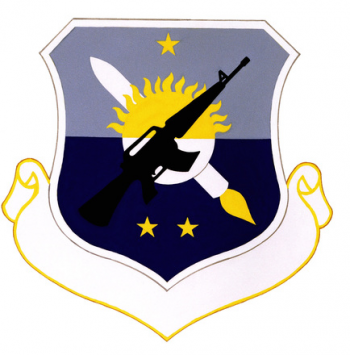 Coat of arms (crest) of the 4392nd Security Police Group, US Air Force