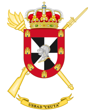 Discontinuous Base Services Unit Ceuta, Spanish Army.png