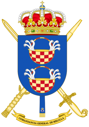Melilla General Command, Spanish Army.png