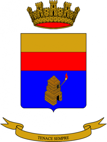 Coat of arms (crest) of the 45th Signal Regiment, Italian Army