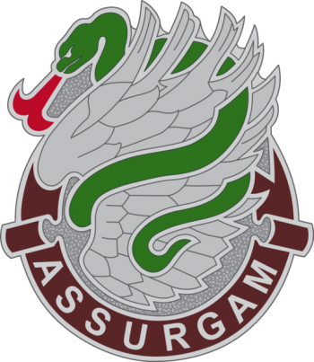 Arms of 626th Support Battalion, US Army