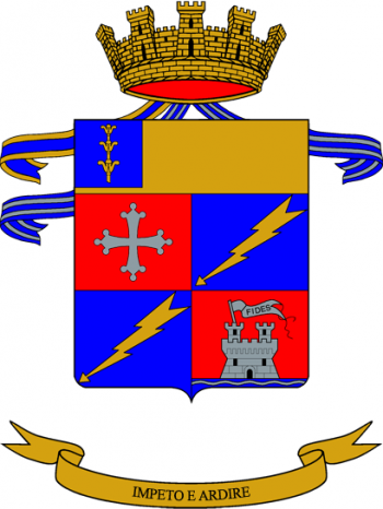 Coat of arms (crest) of the 186th Parachute Regiment Folgore, Italian Army