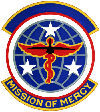 Coat of arms (crest) of the 118th Aeromedical Evacuation Squadron, Tennessee Air National Guard