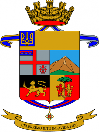 Coat of arms (crest) of the 37th Infantry Regiment Ravenna, Italian Army