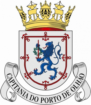 Coat of arms (crest) of the Harbour Captain of Olhão, Portuguese Navy