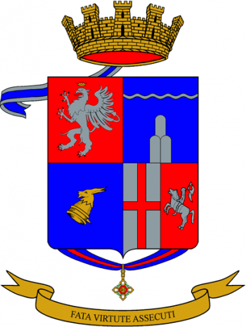Coat of arms (crest) of the 130th Infantry Regiment Perugia, Italian Army