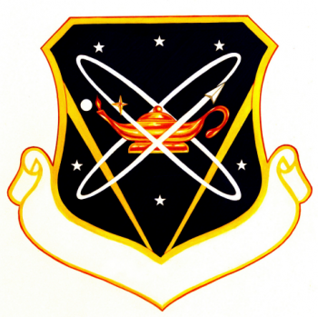 Coat of arms (crest) of the Air Force Space Command Inspection Center, US Air Force