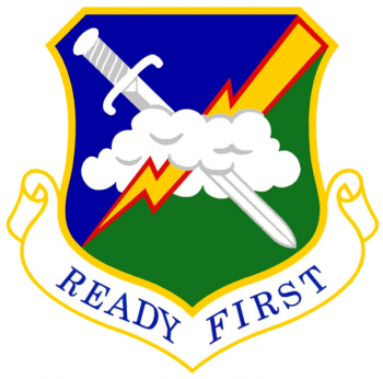 Coat of arms (crest) of the 1st Air Support Operations Group, US Air Force